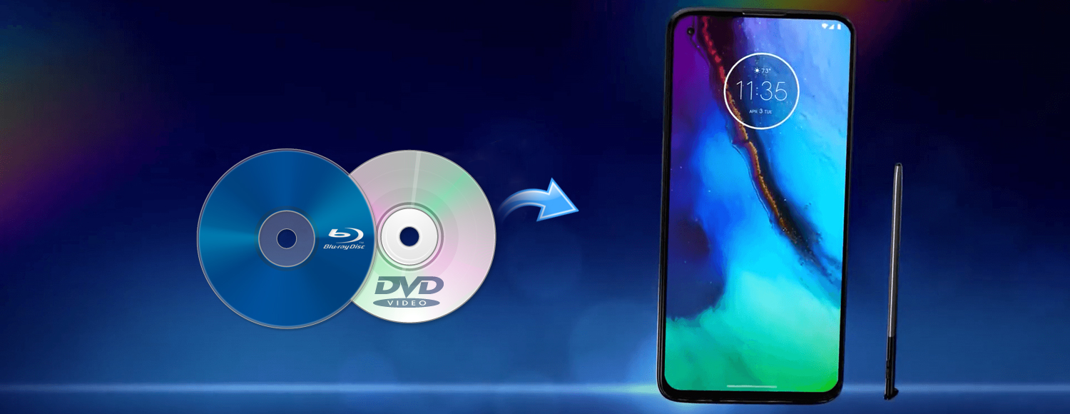 Rip and convert Blu-ray to Moto G Pro supported video format