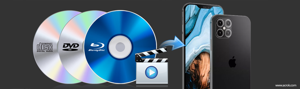 How to import a Blu-ray to play on iPhone 12 Pro Max
