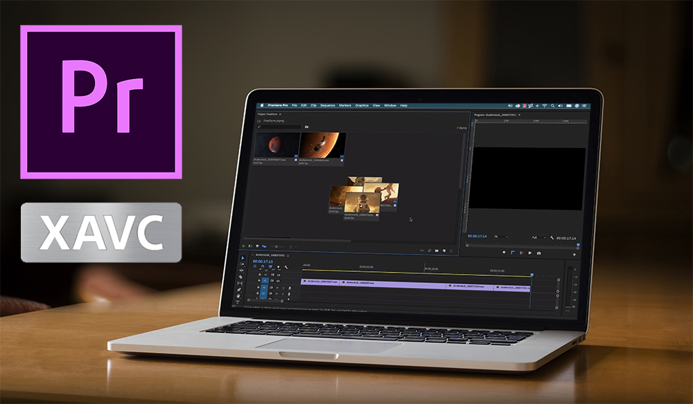 Merge/Convert/Import XAVC files to Premiere Pro